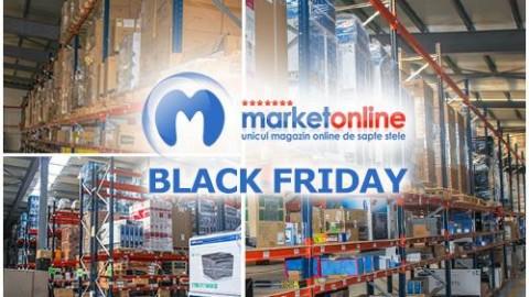De Black Friday MarketOnline.ro oferă garanţia celui mai mic preţ